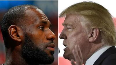"""Trump le responde a LeBron y a Curry: """"Ni los Cavs ni los Warriors serán invitados a la Casa Blanca"""""""