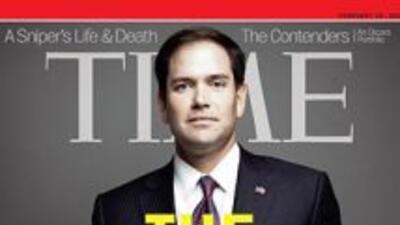 Senador Rubio en portada de revista TIME
