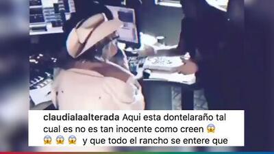 Don Telaraño cruzó los límites y Claudia La Alterada está dispuesta a desenmascararlo