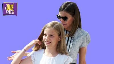 ¿Por qué el manotazo de la infanta Sofía a la reina Letizia causa tanto revuelo?