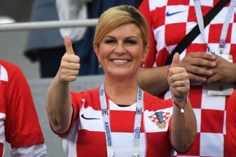 Kolinda Grabar-Kitarovic, la presidenta de Croacia que es fanática ejemplar del Mundial
