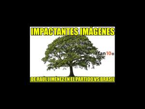 Los memes de la derrota de México ante Brasil