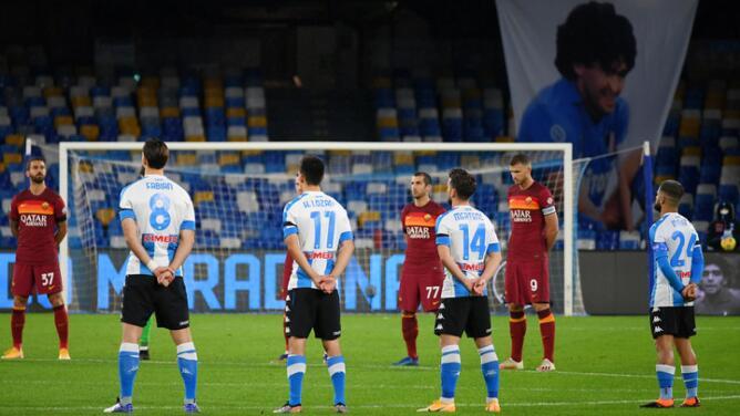 ¡A lo Argentina como Maradona! Napoli y Chucky homenajean al Diego