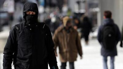 """""""La piel se congelará en 10 minutos"""": el vórtice polar dejará ciudades con temperaturas más bajas que las de Alaska"""