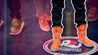 Los sneakers fueron los verdaderos protagonistas de la noche de Premios Juventud