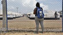 El drama de los inmigrantes venezolanos que escaparon de su país para vivir en tiendas de campaña