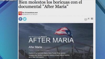 Los boquisabios: documental sobre el huracán María provoca indignación