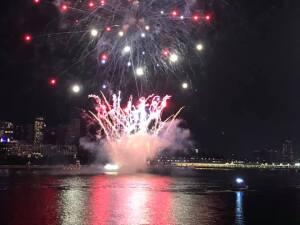 En fotos: los mejores momentos del mayor espectáculo de fuegos artificiales en Nueva York este 4 de julio