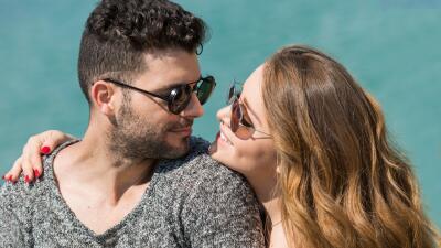 El romántico photoshoot de Sandra Itzel y Adrián Di Monte
