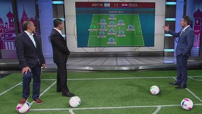 Los Maestros analizaron las fallas de la formación de Argentina ante Croacia en Rusia