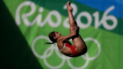 La mexicana Paola Espinosa avanzó a la final de clavados en plataforma 10 metros femenino