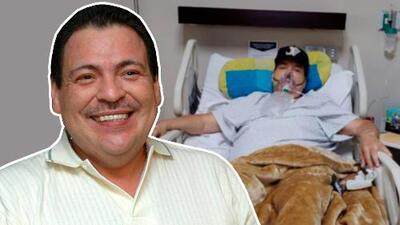 Julio Preciado sufre de un cuadro de neumonía que lo tiene hospitalizado