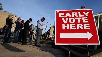 ¿Qué es la votación anticipada y cómo funciona?