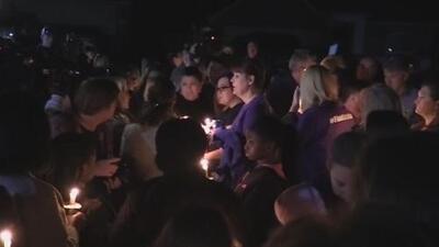 Realizan vigilia en honor a Christina Morris, la mujer cuyos restos fueron hallados en un área boscosa de Texas