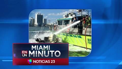 'Miami en un Minuto': una pareja se recupera de las quemaduras tras una explosión registrada en una embarcación