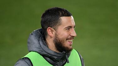 Hazard sorprende con su recuperación y apunta a Champions League