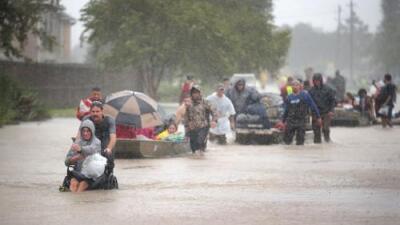 El calentamiento global está haciendo seis veces más probable que Texas tenga huracanes como Harvey