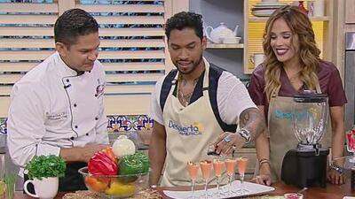 Miguel y Karla cocinaron un sinfín de Antojitos Cubanos para todos