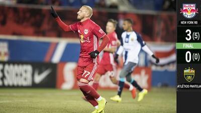 New York Red Bulls arrolló al Atlético Pantoja y enfrentará al Santos Laguna en cuartos de final