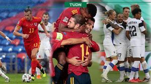 Inició segunda fecha de Nations League con goleada de España