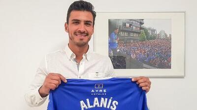 Alanís olvida el traspié con el Getafe y se ilusiona en su presentación con el Real Oviedo