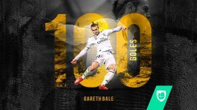 Gareth Bale llegó a 100 goles con el Real Madrid