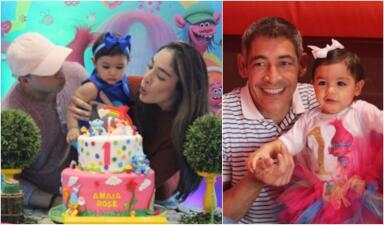 """""""Grande, loca y ruidosa"""": así fue la fiesta de cumpleaños de Amaia Rose (la nieta de Johnny Lozada)"""