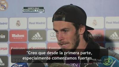 """Gareth Bale: """"Trabajamos en equipo para demostrar lo fuertes que somos"""""""