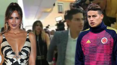 Una argolla, la nueva suegra y más: lo que no viste de Shannon de Lima y James Rodríguez en su visita a Colombia