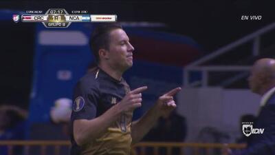 ¡Costa Rica ya lo gana! Oviedo abre el marcador y dedica su gol a Marín