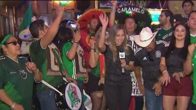 'El Bueno, La Mala y el Feo' llegan a San Antonio para disfrutar del partido entre México y Argentina