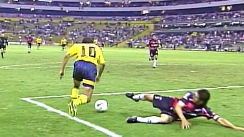 ¡A dos de los 10.000! La magia del Cuauh en el top 5 de golazos del América en el Estadio Azteca