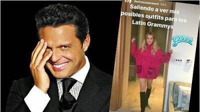 Desirée Ortiz, exnovia de Luis Miguel, aún no tiene vestido para los Latin GRAMMY