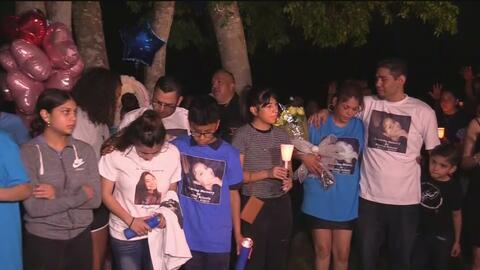 Realizan vigilia en memora de la joven que murió en un accidente vehicular
