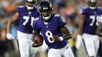 Ravens superan a Bears en el Juego del Salón de la Fama con buen debut de Lamar Jackson