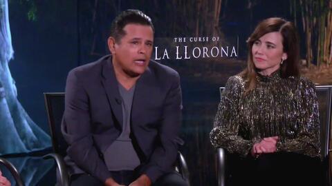 Actores de 'The Curse of the Llorona' revelan su experiencia de terror durante el rodaje de la película