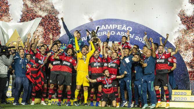 ¡Flamengo es bicampeón del Campeonato Brasileño!