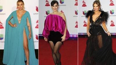 Una de ellas se arriesgó de más: la moda de Karol G, Thalía y Ana de la Reguera bajo la lupa