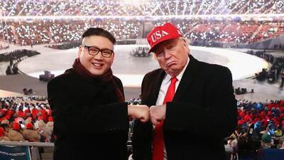 ¿Donald Trump y Kim Jong-un juntos en los Juegos Olímpicos de Pyeongchang?
