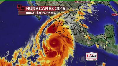 Huracán Patricia, el más poderoso en el Pacífico Mexicano
