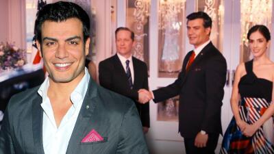 Andrés Palacios es un presidente que enamora en La Usurpadora, conoce más de su trayectoria