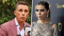 Sergio Mayer dice que Frida Sofía tendrá que decidir si denuncia legalmente el abuso que sufrió
