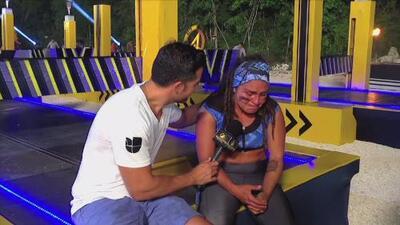 Semiramis no pudo contener el llanto al sentirse derrotada tras su segunda eliminación
