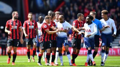 En fotos: Tottenham perdió con Bournemouth y ahora se enfoca en la Semifinal de Champions ante Ajax