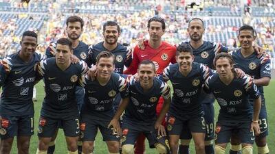 Alineación del América confirmada para el juego ante Pumas