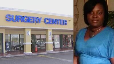 Mujer muere tras someterse a una cirugía estética en una clínica de Miami-Dade