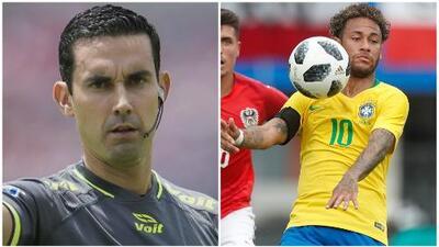 El árbitro mexicano César Arturo Ramos pitará el debut de Brasil contra Suiza en el Mundial