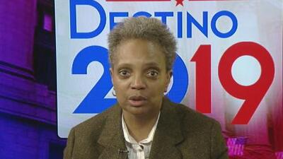 Primera Hora: Lori Lightfoot, candidata para alcalde de Chicago, habla sobre los planes que tiene para combatir la corrupción y la inseguridad