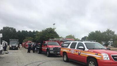 Despliegan 42 miembros de rescate en respuesta al huracán Dorian