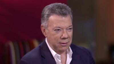 """""""Con Cuba hay diferencias de fondo en lo ideológico, pero trabajamos por la paz"""": Presidente de Colombia"""
